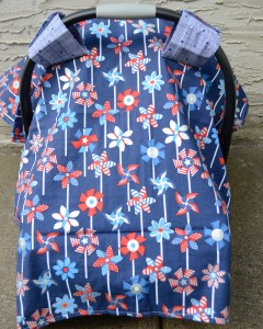 carseat-cover-canopy-hatchlings-and-hens-red-white-blue-pinwheels