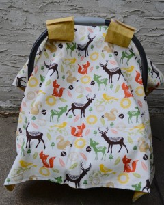 car-seat-cover-canopy-hatchlings-and-hens-woodland-animals