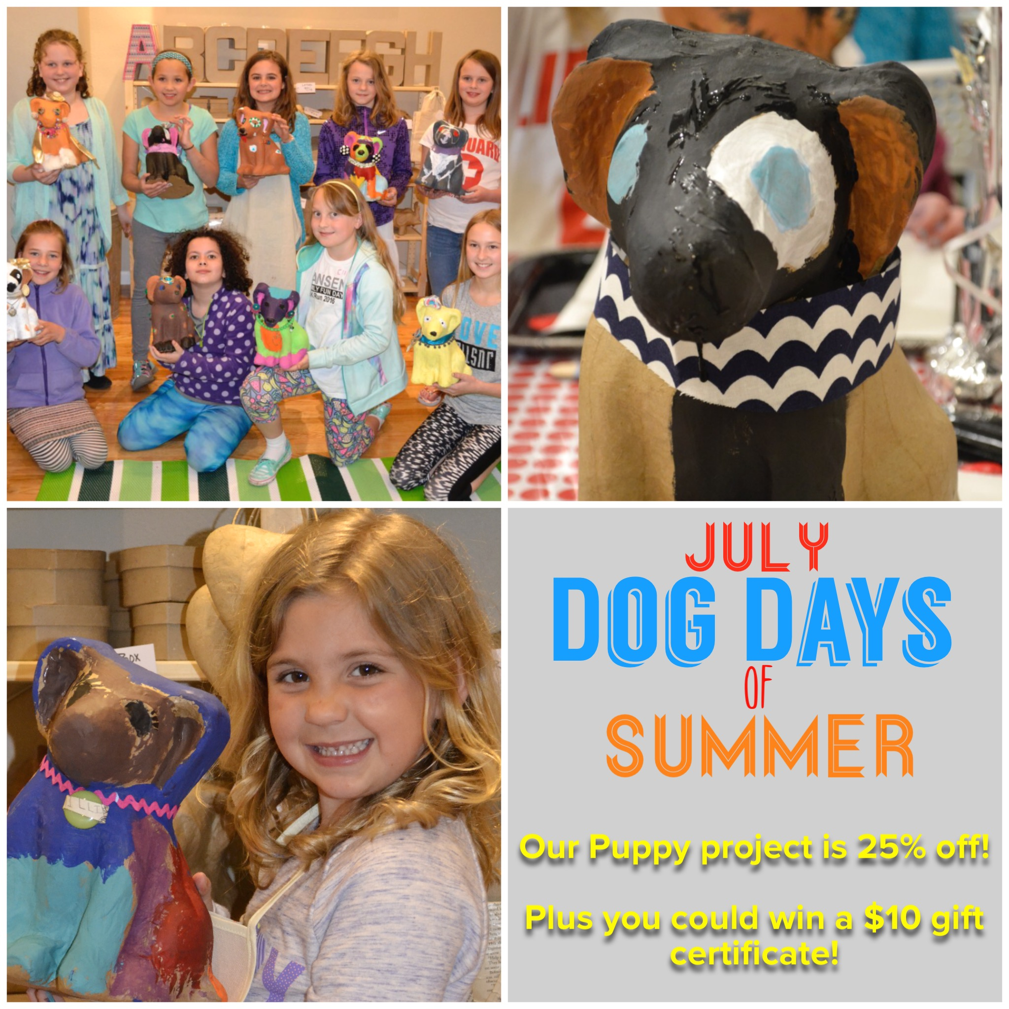 July is Dog Days of Summer Month!